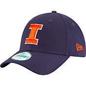 New Era Men's Illinois Fighting Illini Blue The League 9Forty Adjustable Hat