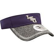 New Era Men's LSU Tigers Purple/Grey Training Visor