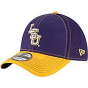 New Era Men's LSU Tigers Purple/Gold Team Front Neo 39Thirty Hat