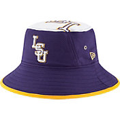 New Era Men's LSU Tigers Purple Logo Topper Bucket Hat