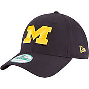 New Era Men's Michigan Wolverines Blue The League 9Forty Adjustable Hat