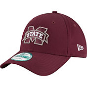 New Era Men's Mississippi State Bulldogs Maroon The League 9Forty Adjustable Hat