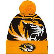 New Era Men's Missouri Tigers Gold/Black Logo Whiz 2 Knit Beanie