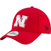 New Era Men's Nebraska Cornhuskers Scarlet The League 9Forty Adjustable Hat