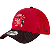 New Era Men's NC State Wolfpack Team Front Red/Black Neo 39Thirty Stretch Fit Hat