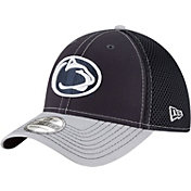 New Era Men's Penn State Nittany Lions Blue/Grey Team Front Neo 39Thirty Stretch Fit Hat