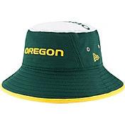 New Era Men's Oregon Ducks Green Logo Topper Bucket Hat