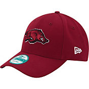 New Era Men's Arkansas Razorbacks Cardinal League 9Forty Hat