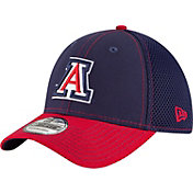 New Era Men's Arizona Wildcats Navy/Cardinal Team Front Neo 39Thirty Hat