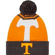 New Era Men's Tennessee Volunteers Tennessee Orange/Gray Logo Whiz 2 Knit Beanie