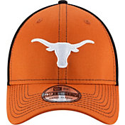 New Era Men's Texas Longhorns Team Front Burnt Orange/Black Neo 39Thirty Hat