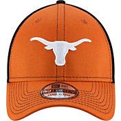 New Era Men's Texas Longhorns Team Front Burnt Orange/Black Neo 39Thirty Hat