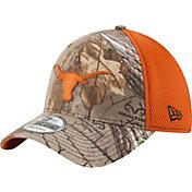 New Era Men's Texas Longhorns Burnt Orange Realtree Neo 39THIRTY Hat
