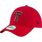 New Era Men's Texas Tech Red Raiders Red The League 9Forty Adjustable Hat
