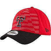 New Era Men's Texas Tech Red Raiders NE 15 Stars Red/Black 39Thirty Performance Hat