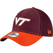 New Era Men's Virginia Tech Hokies Maroon/Burnt Orange Team Front Neo 39Thirty Hat