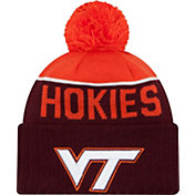 New Era Men's Virginia Tech Hokies Maroon/Orange NE 15 Sport Knit Beanie