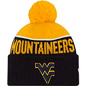 New Era Men's West Virginia Mountaineers Blue/Gold NE 15 Sport Knit Beanie