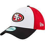 New Era Men's San Francisco 49ers Perfect Block White 9Forty Adjustable Hat