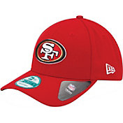 New Era Men's San Francisco 49ers League 9Forty Adjustable Red Hat