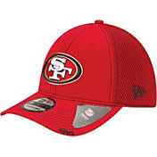 New Era Men's San Francisco 49ers 39Thirty Neo Flex Red Hat