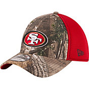New Era Men's San Francisco 49ers Real Tree Neo 39Thirty Camouflage Flex Hat