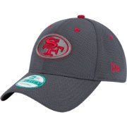 New Era Men's San Francisco 49ers Graphite Pop 9Forty Adjustable Hat
