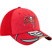 New Era Men's Tampa Bay Buccaneers 2017 NFL Draft 39Thirty Adjustable Red Hat