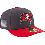 New Era Men's Tampa Bay Buccaneers Crafted in America 59Fifty Graphite Fitted Hat