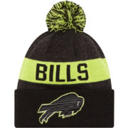 New Era Men's Buffalo Bills Sport Cyber Yellow Knit Beanie