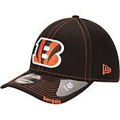 New Era Men's Cincinnati Bengals 39Thirty Neo Flex Black Hat