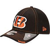 New Era Men's Cincinnati Bengals 39Thirty Neoflex Black Stretch Fit Hat
