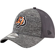 New Era Men's Cincinnati Bengals Shadowed Team 39Thirty Grey Flex Hat