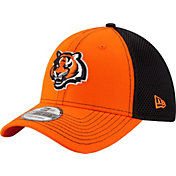 New Era Men's Cincinnati Bengals Team Front Neo 39Thirty Flex Hat