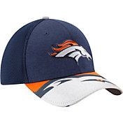 New Era Men's Denver Broncos 2017 NFL Draft 39Thirty Adjustable Navy Hat