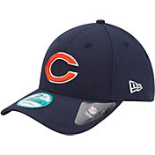 New Era Men's Chicago Bears League 9Forty Adjustable Navy Hat