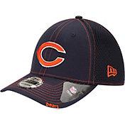 New Era Men's Chicago Bears 39Thirty Neo Flex Navy Hat