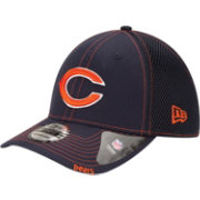 New Era Men's Chicago Bears 39Thirty Neoflex Navy Stretch Fit Hat