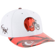 New Era Men's Cleveland Browns 2017 NFL Draft 59Fifty Fitted White Hat