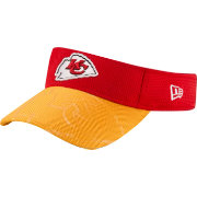 New Era Men's Kansas City Chiefs Sideline 2016 Red/Gold Visor