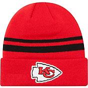 New Era Men's Kansas City Chiefs Cuffed Red Knit Hat