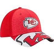 New Era Men's Kansas City Chiefs 2017 NFL Draft 39Thirty Adjustable Red Hat