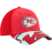 New Era Men's Kansas City Chiefs 2017 NFL Draft 39Thirty Adjustable Red Hat
