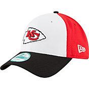 New Era Men's Kansas City Chiefs Perfect Block White 9Forty Adjustable Hat