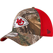 New Era Men's Kansas City Chiefs Real Tree Neo 39Thirty Camouflage Flex Hat