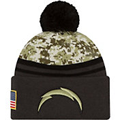 New Era Men's San Diego Chargers Salute to Service 2016 Camo Cuff Knit