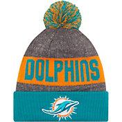 New Era Men's Miami Dolphins Sideline 2016 Sport Knit Hat