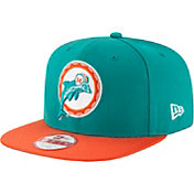 New Era Men's Miami Dolphins Sideline 2016 9Fifty On-Field Adjustable Hat