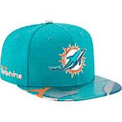 New Era Men's Miami Dolphins 2017 NFL Draft 9Fifty Adjustable Aqua Hat