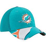 New Era Men's Miami Dolphins 2017 NFL Draft 39Thirty Adjustable Aqua Hat